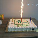 Tort z okazji 1 urodzin
