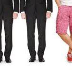 sylwetki panów w garniturach od pasa w dół