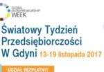 reklama światowego tygodnia przedsiębiorczości w Gdyni