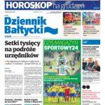 Zdjęcie gazety dzienniku bałtyckim